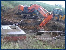 GAMALAKHE Water Pipeline Concrete Chambers